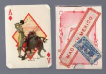 Collectible playing cards Bullfighting 1940`s